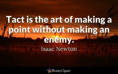 How to be Tactful? – Art of tact and diplomacy