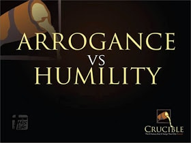 Ways to identify Humility vs. Arrogance in leadership roles